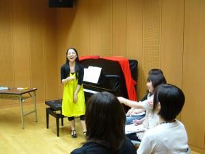 脳血管性障害の音楽療法、模擬セッション