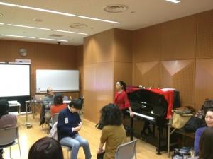 音楽療法セラピスト養成講座「音楽療法概論」2日目のワーク1