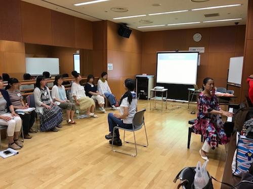 音楽療法セラピスト養成講座「ソルフェージュと伴奏法」